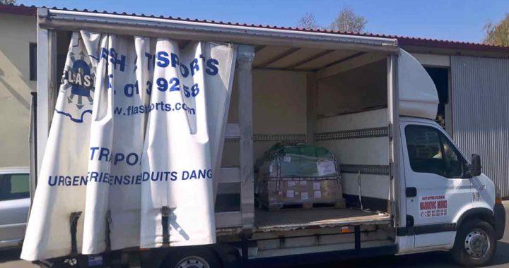 kombi kamion za selidbe sa velikim tovarnim prostorom